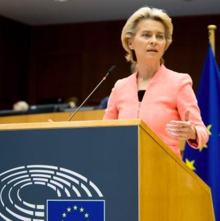 Predsednica Evropske komisije potrdila načrt za zmanjšanje emisij za 55 % do leta 2030