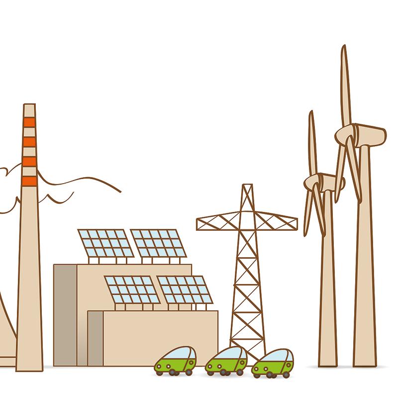 Študija: Obnovljivi viri pri proizvodnji elektrike v EU lani prehiteli fosilna goriva