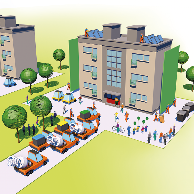 Vizjak: Trajnostna gradnja lahko pomembno pripomore k okrevanju slovenskega gospodarstva