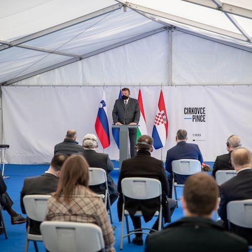 ELES začel gradnjo prenosne povezave z Madžarsko