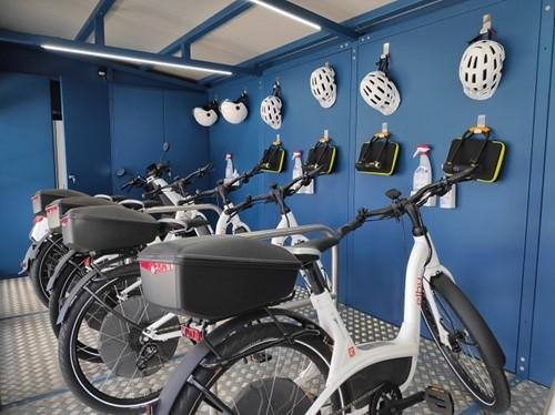GEN-I dobil priznanje GZS za projekt TEK in pametno e-kolesarnico
