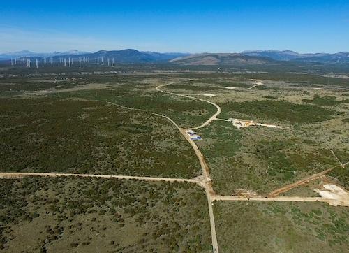 Petrol zagon 30 MW vetrnega parka Ljubač na Hrvaškem načrtuje v začetku aprila 2021
