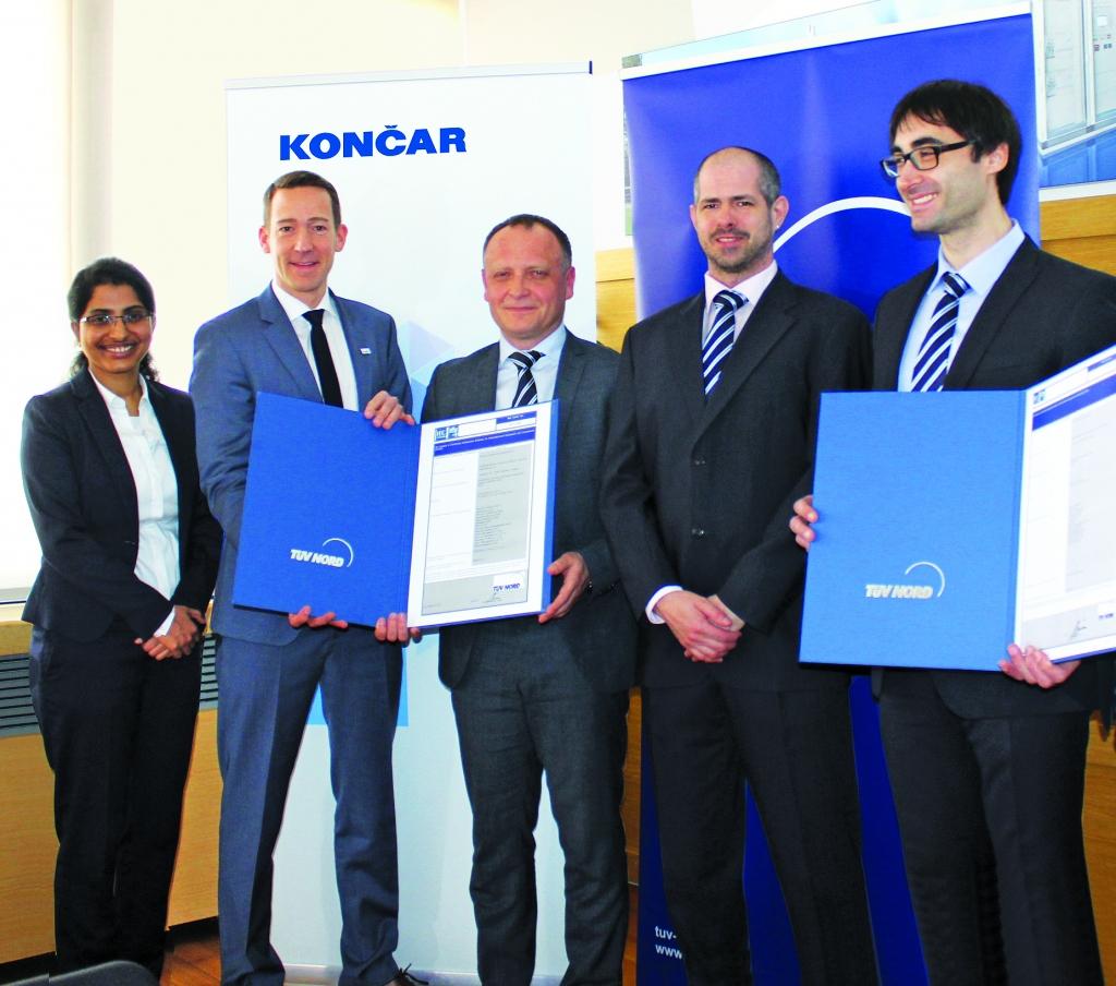 Dobrih 100 let: Skupina KONČAR – vodilni v regiji na področju elektroenergetike