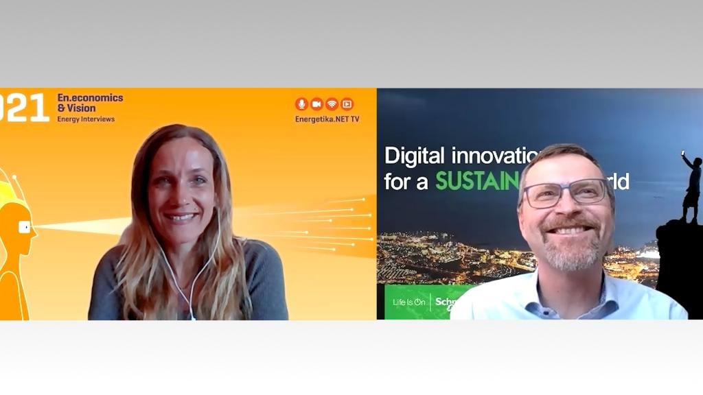 Dr. Petr Hermann, Schneider Electric: Prihodnost bo vsekakor trajnostna
