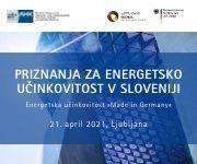 Slovensko-nemška gospodarska zbornica vabi na strokovno-poslovni dogodek in podelitev priznanj za energetsko učinkovitost