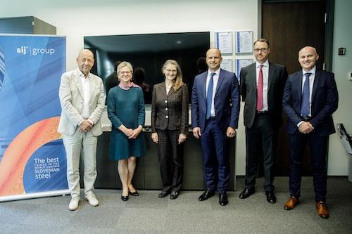EBRD s Skupino SIJ o prihodnjih možnostih za sodelovanje