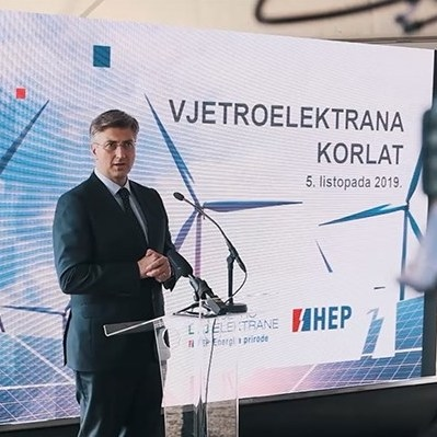Croatian HEP's 58 MW Korlat Wind Park to Be Commissioned in August 2020