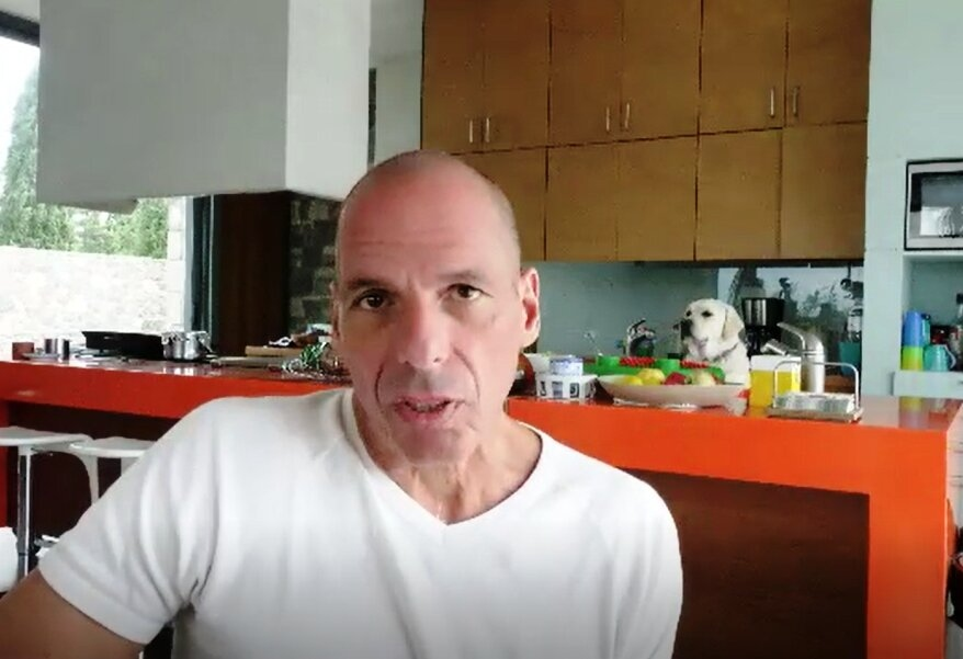 Dr. Yanis Varoufakis: We Are Nowhere Near the Green Transition; in English